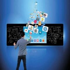 75英寸智慧教室互动黑板 75寸 壁挂