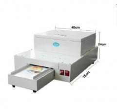 光盘淋膜机 影碟过油机 照片淋膜机UV光固上光机光盘上油机淋膜机 400*550*220mm