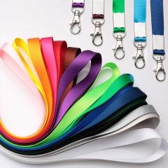工作证胸卡挂绳展会挂绳工作证吊绳胸卡带证件挂带印刷LOGO 各种颜色15*460mm