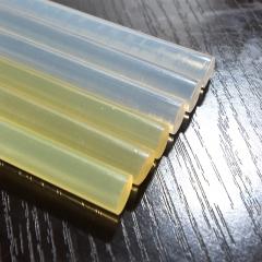 热熔胶棒小7mm11mm蜡烛高温高粘白色透明塑料胶条胶枪饰品diy手工 7mm的180长80根