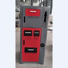 有害垃圾桶 有毒垃圾分类桶 有害垃圾箱 专用垃圾箱 650*650*1500mm