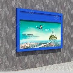 室内壁挂式宣传栏 医院公告栏 室内公示栏 1.2米*2.4米 液压款