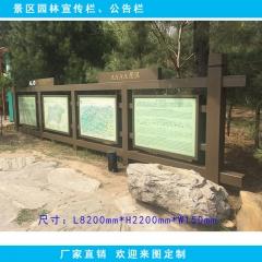 景点公示牌 景区告示牌 警戒牌 公园文化牌 简介牌 长8.2m*高2.2m 图示样式
