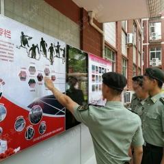智能触控语音宣传栏 语音播报宣传栏 液晶屏宣传栏 1500*4200mm 图示样式