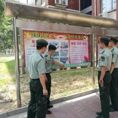 部队有声互动宣传栏 智能语音触控宣传栏 单个箱体1.2m*2.4m 图示样式