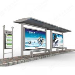 经典不锈钢候车亭 定制公交站亭 公交候车亭厂家 不锈钢 一延米