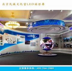 室内LED球形屏 p6显示屏 直径1米2米3米5米球形显示屏 直径1.5米7.065㎡ 室内P6